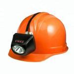 Underground Mining Cap Lamps , IP68 Waterproof Coal Miner Hard Hat Light Manufactures