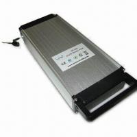 China 36V/10Ah LiFePO4 Battery Pack for E-bikes, with 10A Standard Discharge Current on sale