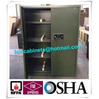 Fireproof Gun Storage Industrial Safety Cabinets , Gun Powder Storage Flame Proof Storage Cabinets Manufactures