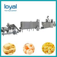 China Automated Puffed Snacks Machine , Extrusion Snack Food Processing Machinery on sale