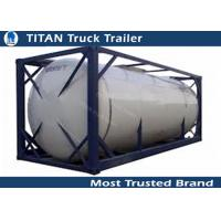 China Fuel petrol oil container tanks semi truck trailer with international standard on sale