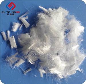 China 100% Acid Alkali Proof PP Fiber Polypropylene Fiber Monofilament 4 - 48mm on sale