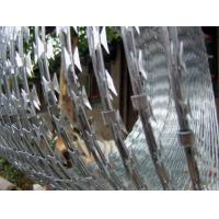 Quality SS Powerful Security Razor Wire Anti Corrosion 450mm - 980mm Outside Diameter for sale