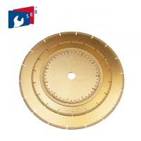 Durable Diamond Cutting Blade , Diamond Stone Cutting Disc Long Life Span Manufactures