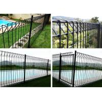 Brc Galvanised Steel Mesh Fence Panels, Heavy Gauge Welded Wire Fence Panels Manufactures