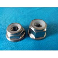 China Polished Pure GR5 Alloy Titanium Nuts Screws Cap For Motorcycle Parts Engine Oil Filter on sale