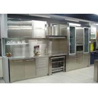 China Free Standing Stainless Steel Outdoor Kitchen Cabinets , Island Kitchen Units on sale