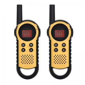 Buy cheap Handheld Walkie Talkies , ABS Camping / Hiking Mini UHF children Walkie Talkies from wholesalers