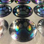 Durable Laser Sticker Custom Hologram Sticker Color Laser Warning Sticker Manufactures