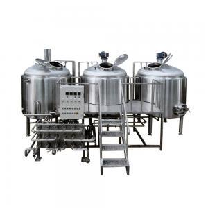 Industrial Craft Beer Brewing Equipment 200L-5000L Polish Below 0.4 Um Manufactures
