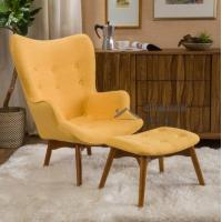 Decorative Armchairs Leisure Lounge Bear Chair Leather Contour Chair and Ottoman Manufactures
