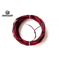 China K Type Thermal Coupling Wire High Temperature PEF / PTFE / Fiberglass Insulation on sale