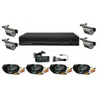 China Home Video Surveillance 4CH H.264 FULL D1 DVR Kits DR-7504AV502C on sale