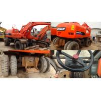 Used Doosan Excavator 150W-7 ,Hydraulic Excavator with Red Color Manufactures