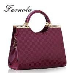 Genuine leather tote lady shoulder handbag Manufactures