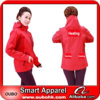 Hot sale outdoor jacket With Automatic Battery Heating System Electric Heating Clothing Warm OUBOHK Manufactures