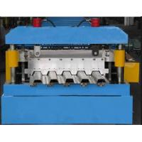 PLC Touch Screen Control Deck Floor Panel Roller Making Machine 28 Forming Stations Manufactures
