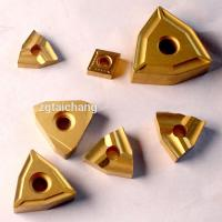 High Wear Resistant Cemented Carbide Tools Thread Cnc Insert Customized Size Manufactures