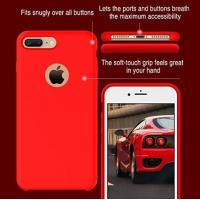 Clear Transparent Cell Phones Covers Cases Soft Silicone TPU For Iphone7 Plus Manufactures