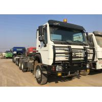 Diesel Prime Mover Truck 6X4 Driving Type 80R22.5 Radial Tire LHD Steering Manufactures