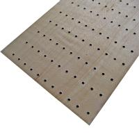 Wooden Soundproof Perforated Wood Wall Panels For Conference Room Manufactures