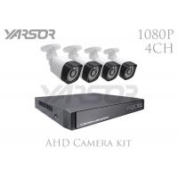 Professional AHD Camera Kit 1080P 4CH 2.0MP Security DVR Kit For Home Manufactures
