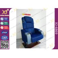 China 4D 9D Movie Cinema Theater Chairs with cupholder 600mm center distance for theatre hall on sale