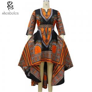 Wax fabrics African Print dresses for women dashiki batik prints Location flower Manufactures