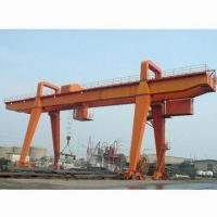 China Double girder heavy-duty gantry crane with novel structure on sale