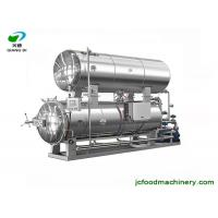 1000L water bathing type electric automatic retort sterilizer machine for meat and juice Manufactures