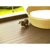 Anti - UV Engineered WPC Deck Flooring For Landscape Materials Polishing Treatment Manufactures