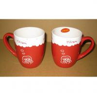 Export 3505 ceramic  mug Certificate of authentication SGS/CE/ROHS custom LOGO coffee MUG mark cup Manufactures