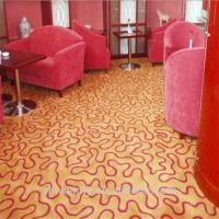 China Handmade brown wool wall to wall carpet for commercial on sale