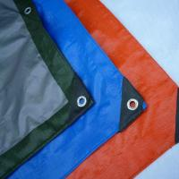 Waterproof PE Tarpaulin Sheet / Polyethylene Sheet Roll Ground Cover Manufactures