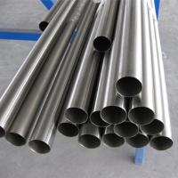 Rolling Drawing Process Seamless Titanium Tubing High Resistance To Strong Acid Alkali Manufactures