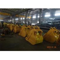 Heavy Duty Rock Excavator Grapple Bucket 800mm Width With Strong Strength Manufactures