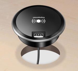 10w Fast Charging Black USB Smart Home Wireless Power Charging Socket British Standard Manufactures
