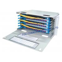 Optical Distribution Frame Full Loaded SC or FC Pigtails And Adapters / Fiber Patch Panel Manufactures