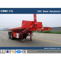 CIMC 20ft container tipping trailer Manufactures