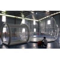 OEM Romantic 0.8mm PVC Inflatable Transparent Bubble Tent / Balloon For Party Manufactures