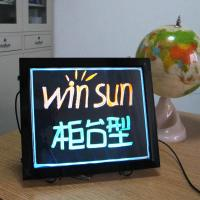China desktop mini led writing board on sale