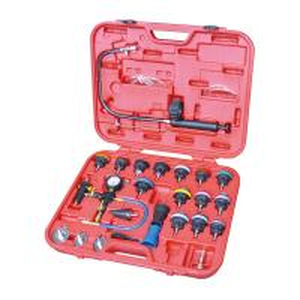China 26pcs Radiator Pressure Tester & Vacuum Type Cooling System Kit Auto Repair Tool on sale