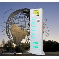 China Network Smart Charging Locker , Cell Phone Charging Machine Android Touch Digital AD on sale