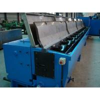 China 13 dies copper rod breakdown wire drawing machine with annealer on sale