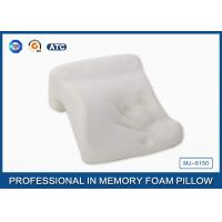 PU Memory Foam Office Nap Pillow With Comfortable Fabric , Novel Design Siesta Pillow Manufactures