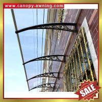 great China outdoor house window door polycarbonate diy pc awning canopy canopies cover shelter kits manufacturers Manufactures