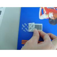 China Adhesive VOID Tamper Eviden Security Labels Various Types For Brand Protection on sale