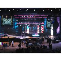 Large Indoor Rental Led Backdrop Curtain Led Wall Display Screen With High Brightness Manufactures