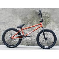 Steel Frame Custom BMX Bikes U Brake Alloy Single Wall Bmx Rim Manufactures