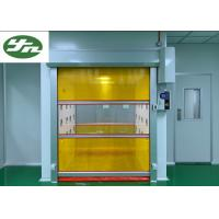 Speed Shutter Rolling Door Air Shower Tunnel Powder Coating Painting For Cargo Manufactures
